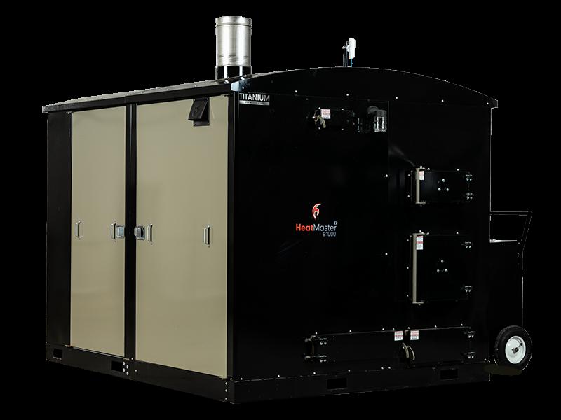 HeatMasterSS B1000 industrial multi-fuel furnace