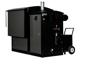 HeatMasterSS B250 industrial wood fired boiler