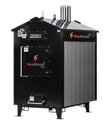 HeatMasterSS C500 coal burning furnace