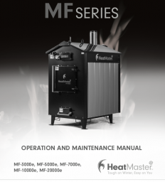 HeatMaster MF eSeries Owners Manual