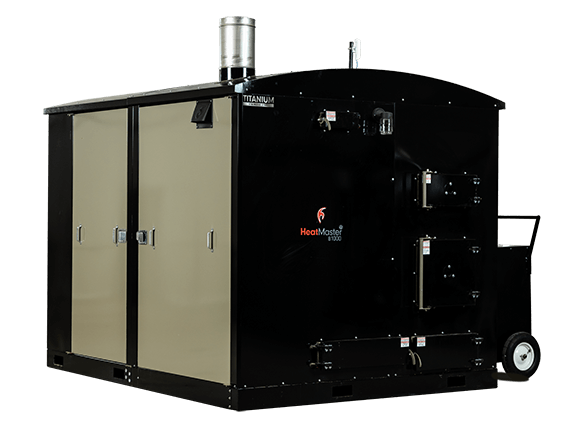 HeatMasterSS B1000 industrial wood boiler