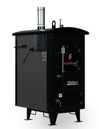 HeatMaster G100 outdoor wood boiler