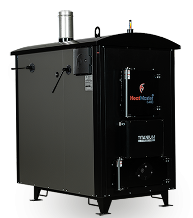HeatMaster G400 outdoor wood boiler