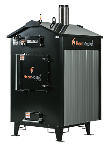HeatMasterSS C150 coal fired boiler furnace