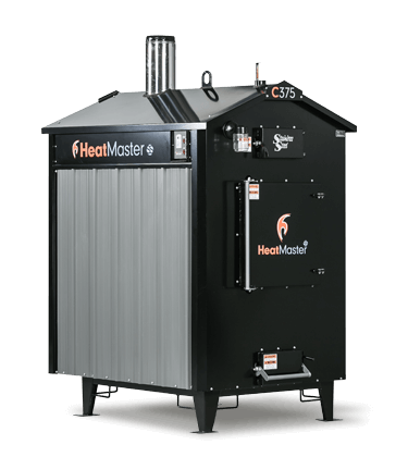 HeatMaster C350 outdoor wood furnace