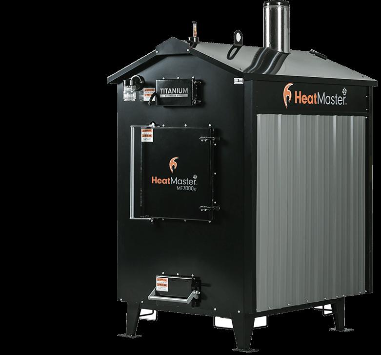 HeatMaster Mf 7000e Outdoor wood furnace