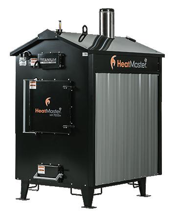 MF 7000e outdoor wood furnace