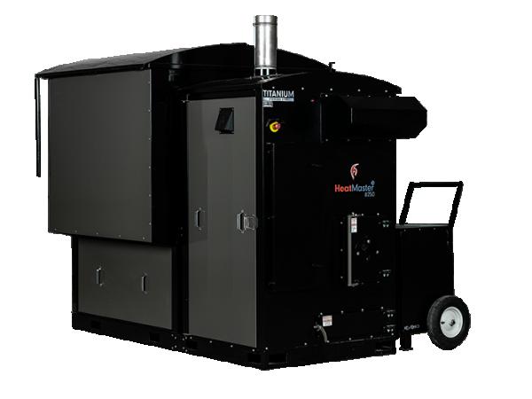 HeatMasterSS B250 industrial boiler